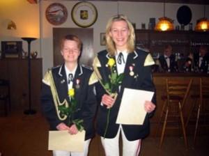10 Jahre aktiver SZ - Kristina Nickel und Tanja Zahrte