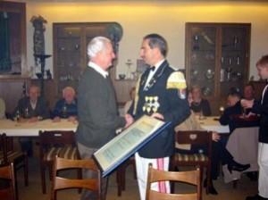 Ehrenmitglied Sigmar Sannwald 2003