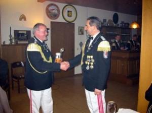 40 Jahre aktiver SZ - Manfred Meinecke