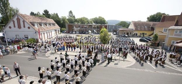 Blasmusikertreffen in St. Margarethen / Raab 2012