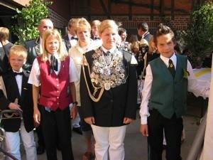 Kinderschützenkönigin Sarah Leichsenring 2006