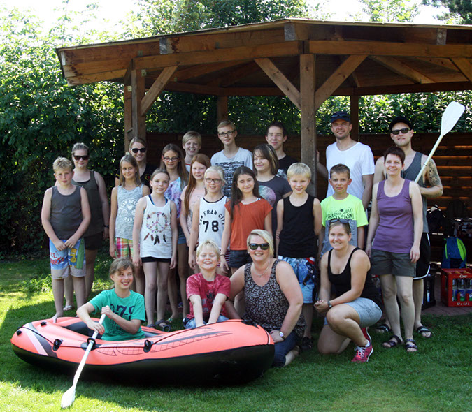 Strandbad-Rallye SZ-Jugend 27.08.2016