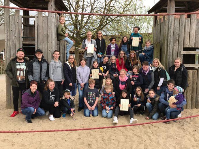 Jugendzug-Rallye 08.04.2017