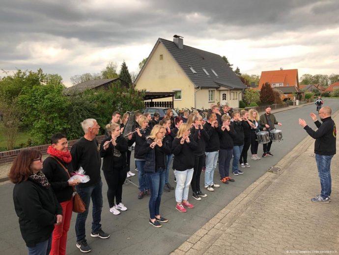 Kinderkönigsscheibe annageln 27.04.2019